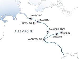 Croisière Berlin-Hambourg